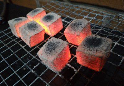Briquette Charcoal versus Hardwood Lump